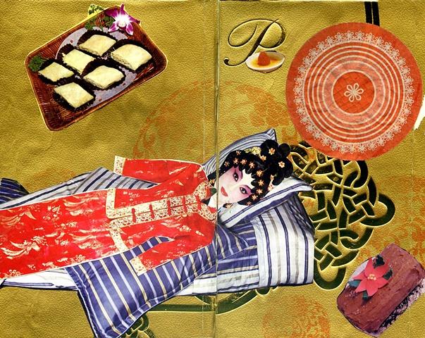 Hong Kong Collage 4: Golden Dessert Dreams