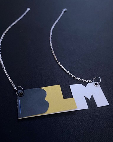 Black Lives Matter Paper Necklace Book