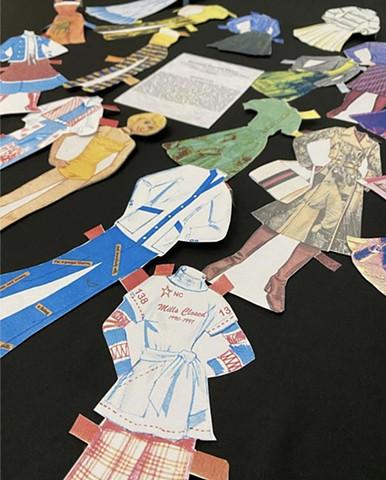 Textile History Paper Doll Barbie