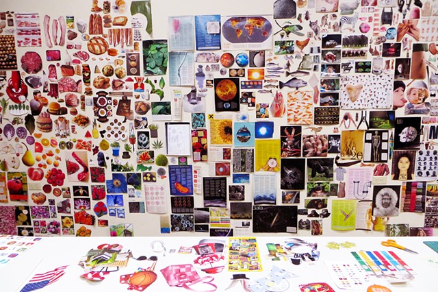 Collage Collection Wall