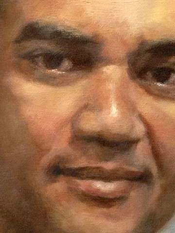 Detail, Portrait of Carlos