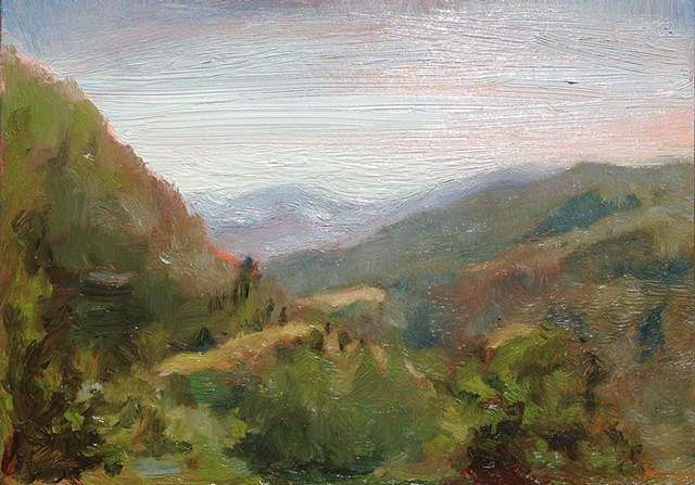 Plein air of La Croce, Italy