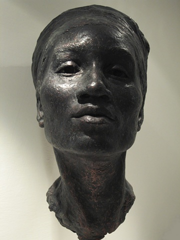 female african- american sculpture dancer