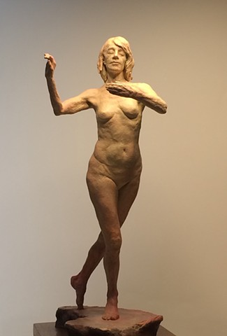 Tango Dancer in Bronze