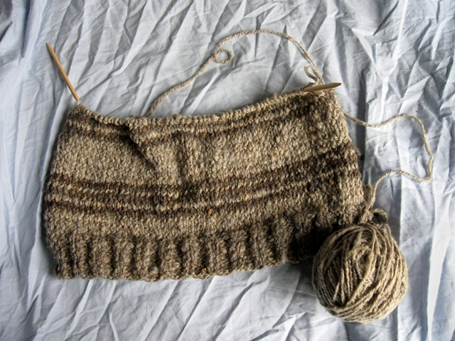 Starting the Sweater