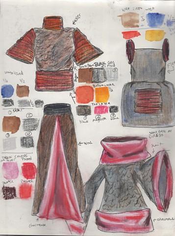 Fashion Design Sketchbook 6