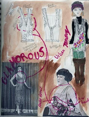 Fashion Design Sketchbook 1
