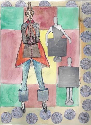 Fashion Design Sketchbook 4