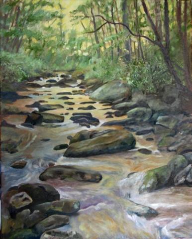 Spirit Waters II (Golden Waters)