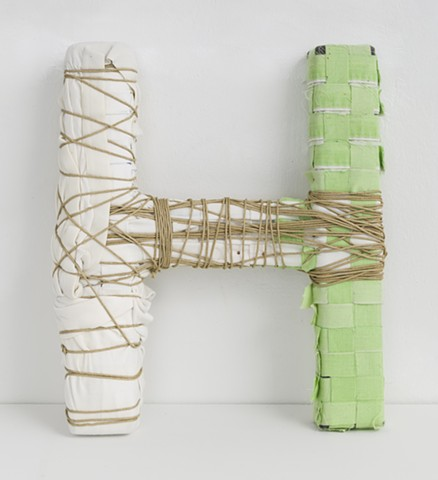 Sculpture, Drawing, Mixed Media, Found Object, Textile, Fiber Art, Craft, Fabric, Thread, String, Yarn, Wood, Wire, Color, Pattern, Texture, Sewn, Weave, Tapestry, Quilt, Art, Brooklyn, New York, Feminist, Labor-intensive, Woman, Meditative, Wrapped