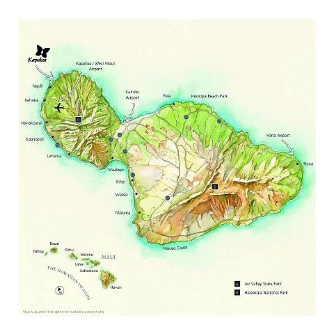 Kapalua, design book