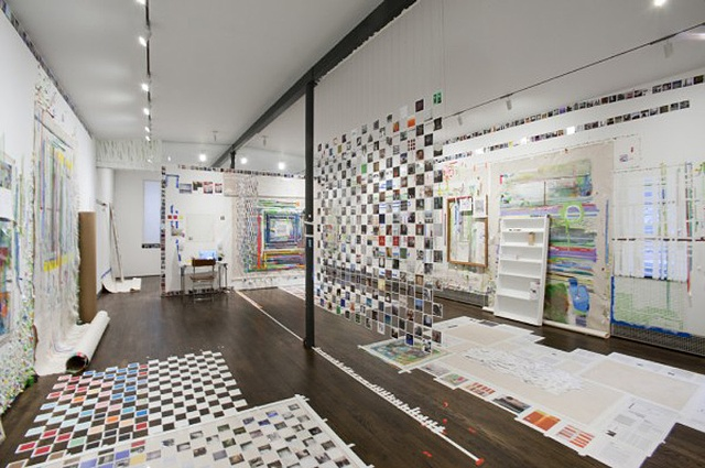 FRANKLIN EVANS EYESONTHEEDGE, 2012 , INSTALLATION VIEW, COURTESY SUE SCOTT GALLERY, N