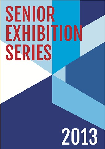 Senior Exhibition Schedule Postcard Front