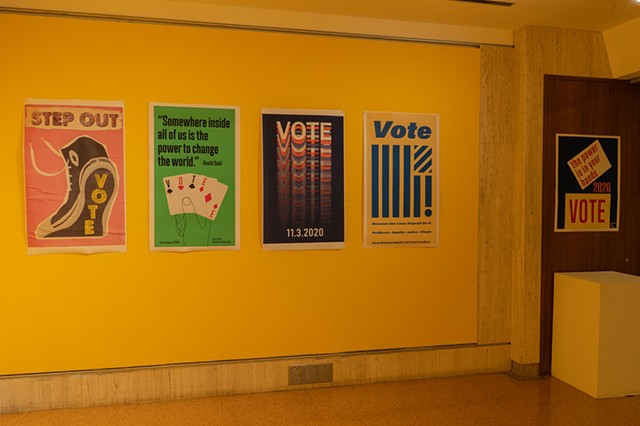 Political Engagement Posters