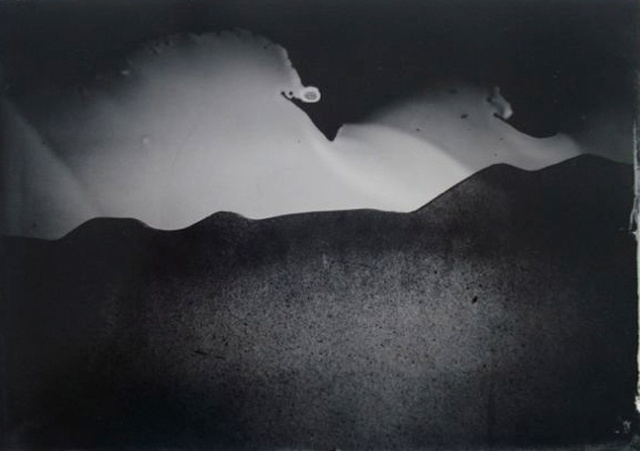 MICHELLE KLOEHN UNTITLED 2012 TINTYPE 5 X 7 INCHES