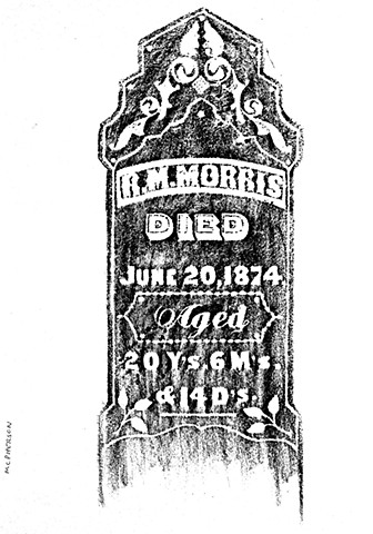 Doug Clouse, Rubbing from McPherson, Kansas