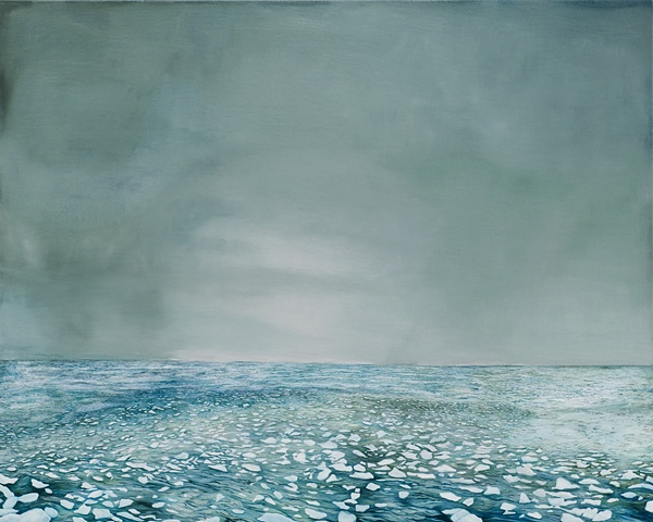 "Janet Gillespie,  Untitled, oil on panel, 32"" x 40"", 2008"