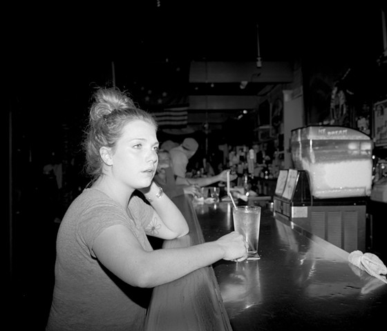 The girl at the bar - Imperial Saloon, Juneau, Alaska, 2018