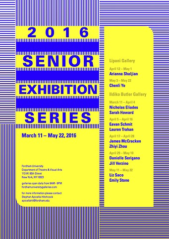 2016 Senior Exhibition Series