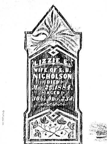 Doug Clouse, Rubbing from Winfield, Kansas