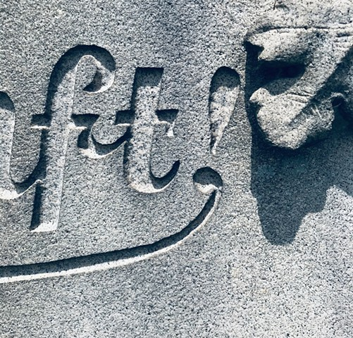 Doug Clouse, Lettering, Green-Wood Cemetery