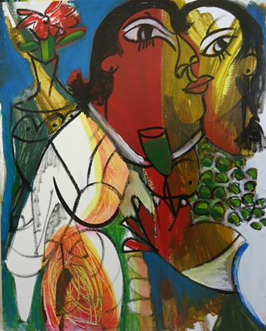 Menelaw Sete Modern contemporary  Brazilian Art
