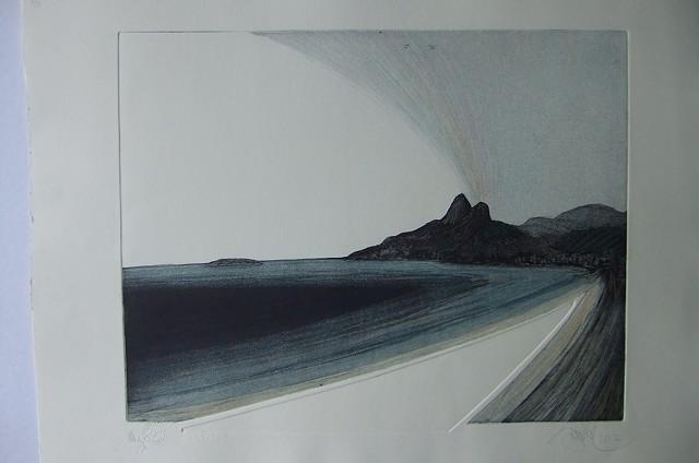 BAHIA, engraving,  modern brazilian contemporary art.