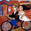 Fuga na Bicicleta com Rapunzel