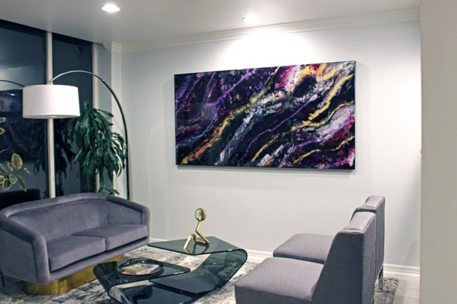 Stormy Night installed in clients home