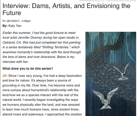 International Rivers (interview conducted for organization's blog)