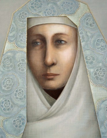 commissioned portrait of Saint Hilda of Whitby