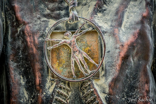 DaVinci, Burning Man, Burning Man 2016, Vitruvian Man