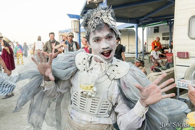 Burning Man 2016, Costume, Burning Man