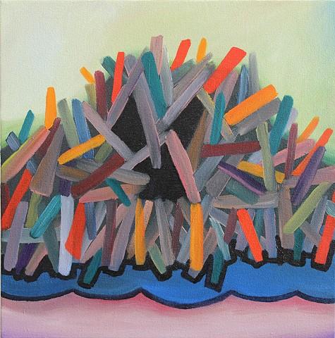 Color Stick Pile