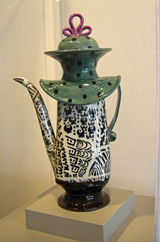African lady teapot (sold but replicapble)