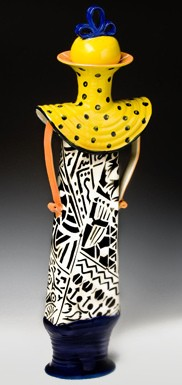 African lady series 1 signatuer pot