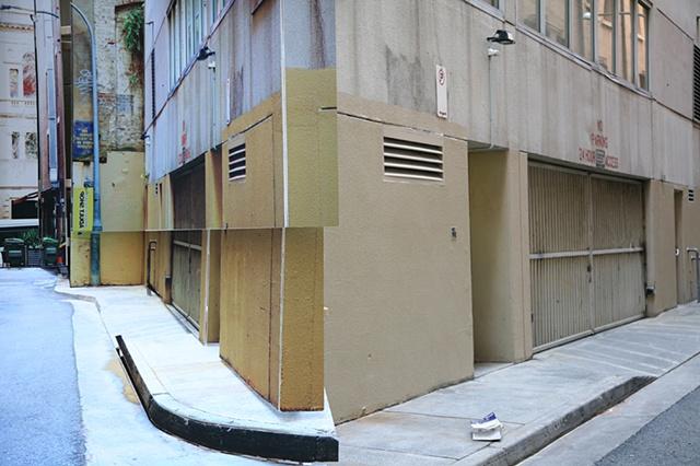 Site Specific Public Arts Project in Sydney, Australia.