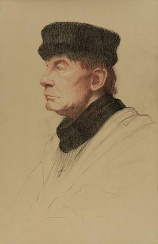 Fur Hat Portrait
