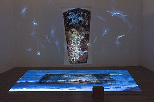 Ghost Ship, Installation at Modem Center for Contemporary Art, Debrecen Hungary