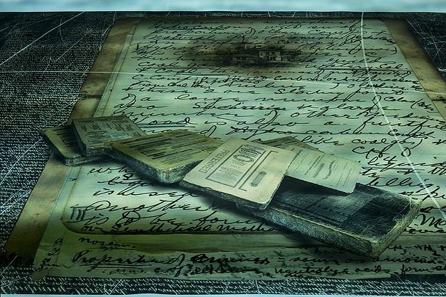 Ghost Ship, detail of floor element, digital inkjet print with digital projection