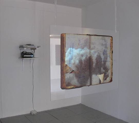 Plume, Exhibited at Phoenix Contemporary Art, Brighton UK, 2010