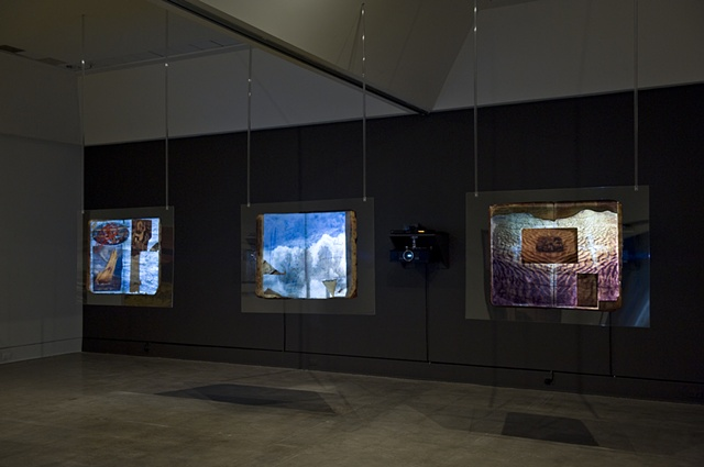 "The Ledge Suite, ""The Last Frontier""   Exhibited at the Art Gallery of Nova Scotia 2010-2011"