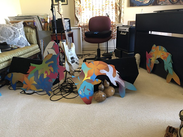 turtlesound studio - Sally, Carol & John's fish