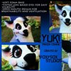 Yuki the Panda Dog