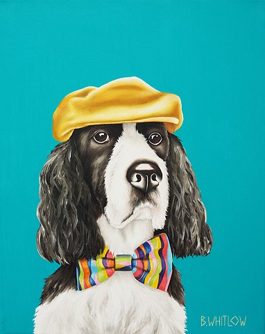 """Whatever you do, look sharp.  It can't hurt and may even help."" - Fergus the Springer"
