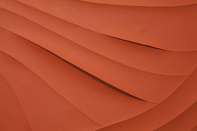 Orange Swirl Detail