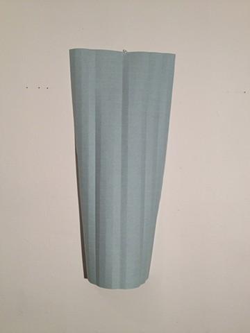blue cylinder grid