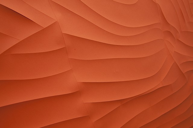 Orange Swirl Detail