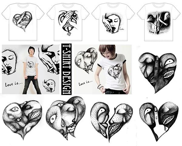 T-Shirt Design: Love