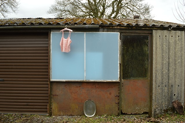 Robyn LeRoy-Evans 'Never were you here, now are' photography artist 'Home' objects body rural Wales
